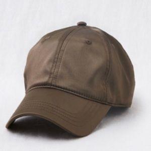 Aerie adjustable satin cap